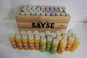 Refreshments for the break kindly provided by Savse Smoothies.
