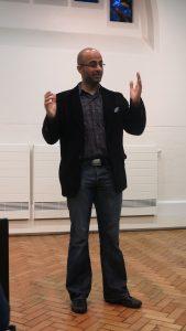 Fahad speaking off the cuff